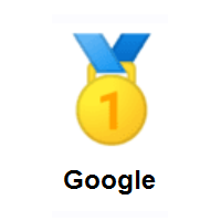 1st Place Medal on Google Android