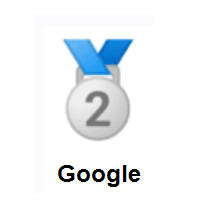 2nd Place Medal on Google Android
