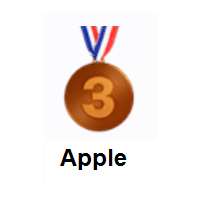 3rd Place Medal on Apple iOS