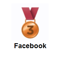 3rd Place Medal on Facebook