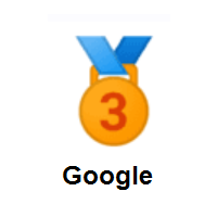 3rd Place Medal on Google Android