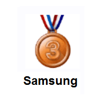 3rd Place Medal on Samsung