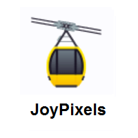 Aerial Tramway on JoyPixels