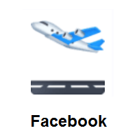 Airplane Departure on Facebook