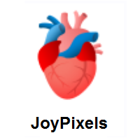 Anatomical Heart on JoyPixels