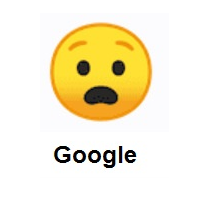 Anguished Face on Google Android