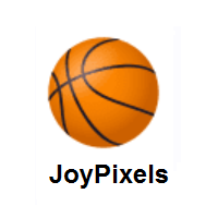 Basketball on JoyPixels
