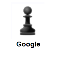 Black Chess Pawn on Google Android