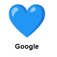 Blue Heart on Google Android
