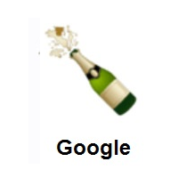 Bottle With Popping Cork on Google Android