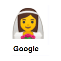 Bride with Veil on Google Android