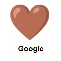 Brown Heart on Google Android
