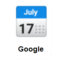 Calendar on Google Android