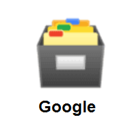 Card File Box on Google Android