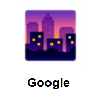 Cityscape At Dusk on Google Android