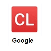 CL Button on Google Android