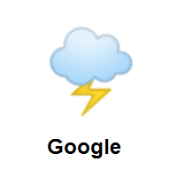 Cloud With Lightning on Google Android