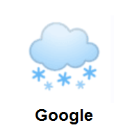 Cloud With Snow on Google Android