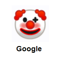 Clown Face on Google Android