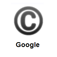 Copyright on Google Android