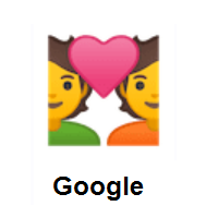 Love: Couple with Heart on Google Android