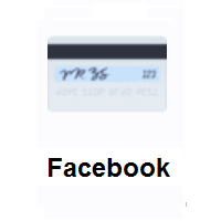 Credit Card on Facebook