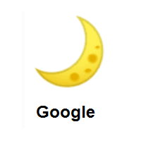 Crescent Moon on Google Android