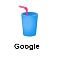 Cup With Straw on Google Android