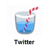 Cup With Straw on Twitter Twemoji