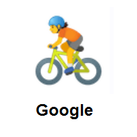 Person Biking on Google Android