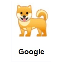 Dog on Google Android