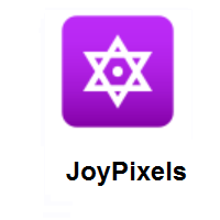 Dotted Six-Pointed Star on JoyPixels
