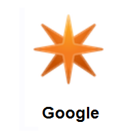 Eight Pointed Star on Google Android