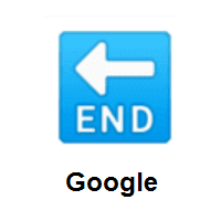 END Arrow on Google Android