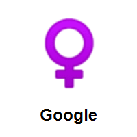 Female Sign on Google Android