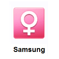 Female Sign on Samsung