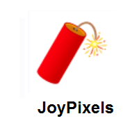 Firecracker on JoyPixels