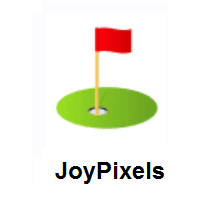 Flag in Hole on JoyPixels