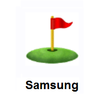 Flag in Hole on Samsung