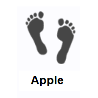 Footprints on Apple iOS