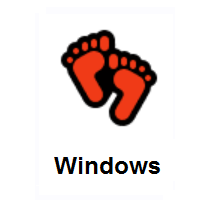 Footprints on Microsoft Windows