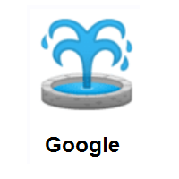 Fountain on Google Android