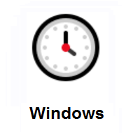Four O'clock on Microsoft Windows