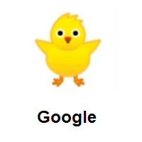 Front-Facing Baby Chick on Google Android