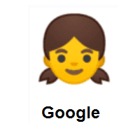 Girl on Google Android