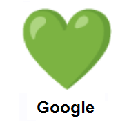 Green Heart on Google Android