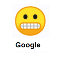 Furious: Grimacing Face on Google Android