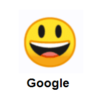 Grinning Face with Big Eyes on Google Android