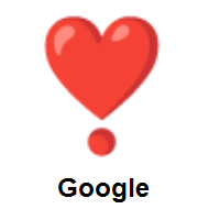 Heart Exclamation on Google Android