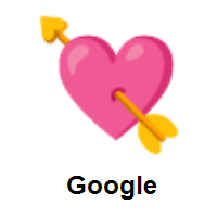 Heart with Arrow on Google Android